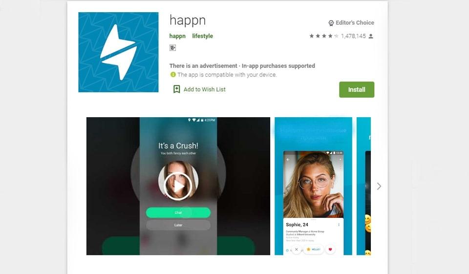 happn () descărcați pe Android apk