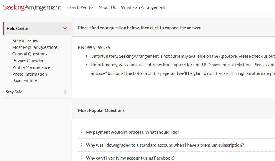 Account seeking arrangement delete Does Title