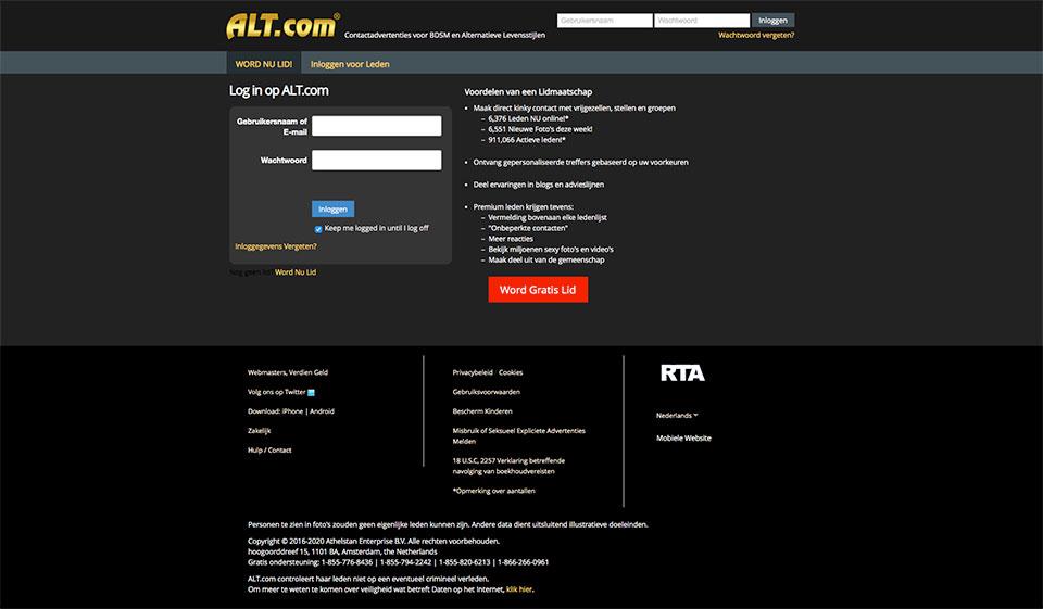 Alt.com AVIS août 2021 – Comment ça marche?