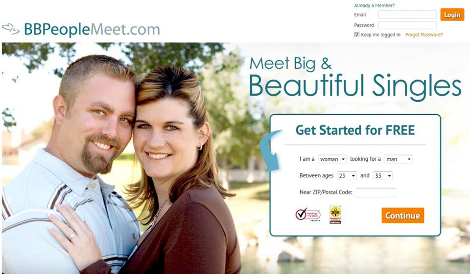 Big beautiful people dating site riding club mentana