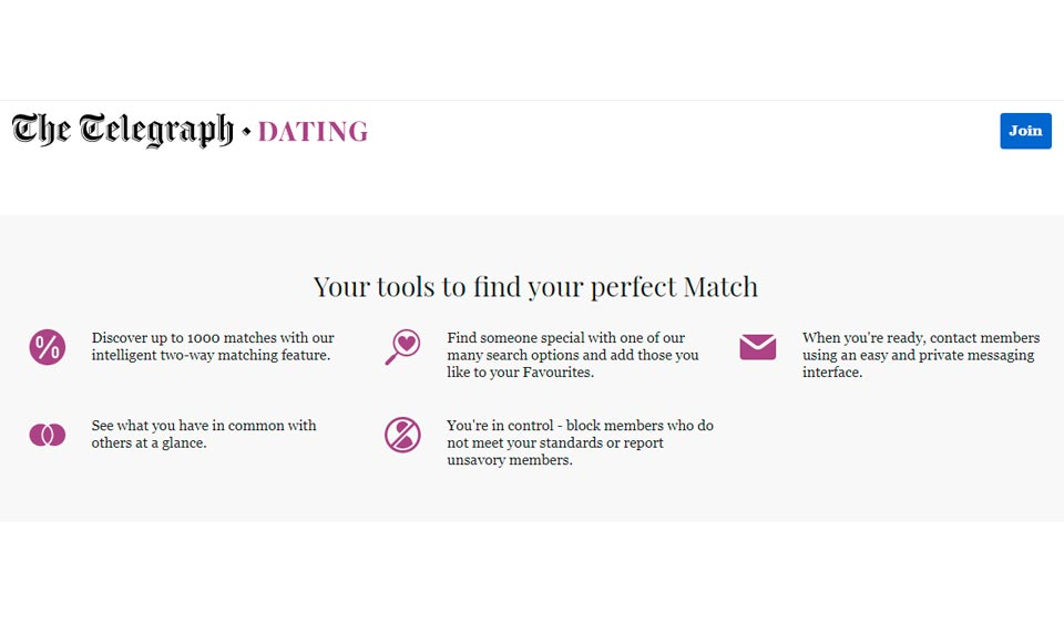 telegraph dating support)