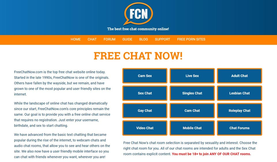 FCN Chat Review 2021