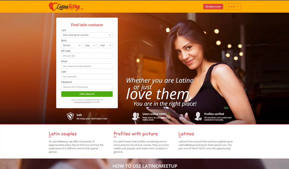 LatinoMeetup RECENSIONE Ottobre 2021