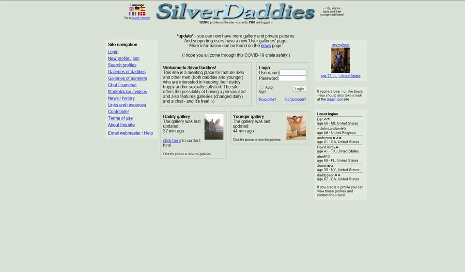 SilverDaddies Overzicht 2021