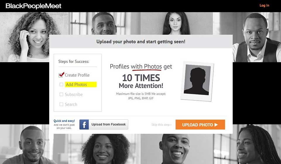 Login com www blackpeoplemeet BlackPeopleMeet Customer